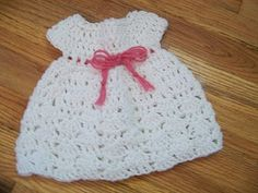 American Girl Doll Crochet Dress