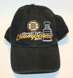 34896a91b62  47 Brand Boston Bruins 2011 NHL Stanley Cup Champions Adjustable Hat NESN   47Brand  BostonBruins
