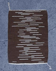 Handwoven Rug, Brown, With Random Stripes of Lichen. Reversible. Handwoven, hand dyed wool rug. Dyes are non-toxic, organic dyes. It is a reversible. One side is mostly brown with random stripes of lichen (very greyish green). Flip it over and it is mostly lichen with random stripes of brown. It will last you a lifetime. There is nothing like getting out of bed in the morning and stepping onto a beautiful wool rug. Fill your home with hand made items to add warmth and uniqueness.