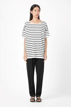 cos linen knit t-shirt