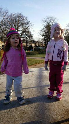 girls after junior park run