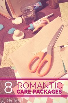 8 romantic care package ideas from a military spouse. Perfect for deployment!