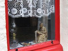 Dentelliere miniature de Bruges