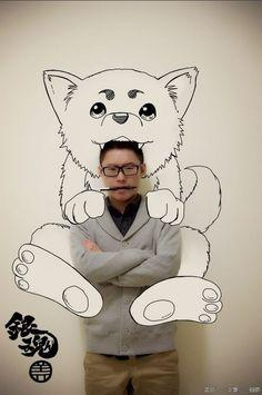 Fã de anime e Mangás chinês cria desenhos com efeitos de 3d - Nerdice