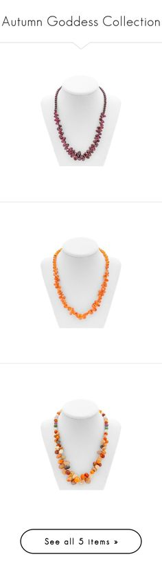 Autumn Goddess Collection You are fire, dance through the wind like a gypsy should laugh in the face of fire.  by mysticalone-com on Polyvore featuring women's fashion, jewelry, necklaces, beading jewelry, garnet jewellery, plum jewelry, beading necklaces, beads jewellery, carnelian jewelry and beaded necklaces