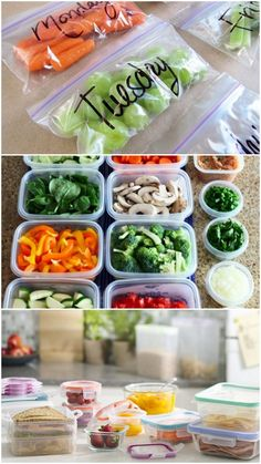 Super ideas to help you pack lunches ahead! via Live Simply #healthy #prepday #cleaneating