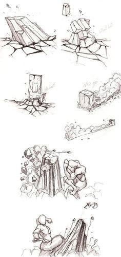 Earthbending practice-sketch by moptop4000
