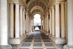 Palazzo Spada , piazza Capo di Ferro  13  . Falsa Prospettiva del…
