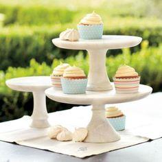 Marble Cake Plate | Ballard Designs