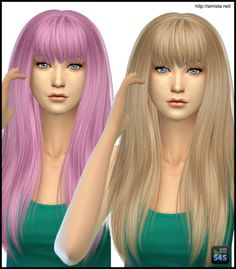 Simista: Alesso Heartbeat Hair Retexture • Sims 4 Downloads  Check more at http://sims4downloads.net/simista-alesso-heartbeat-hair-retexture/