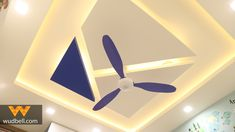 False ceiling matching with Kids bedroom Kids bed room false ceiling Drawing Room Ceiling Design, Simple False Ceiling Design, Interior Ceiling Design, House Ceiling Design, Ceiling Design Living Room, Bedroom False Ceiling Design, Best False Ceiling Designs, Bedroom Ceiling, Bedroom Pop Design