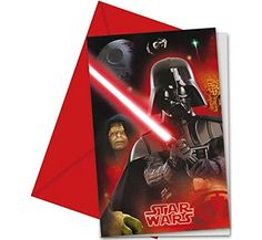 Heroes and Villains Star Wars Party Invitations, Pack of ...