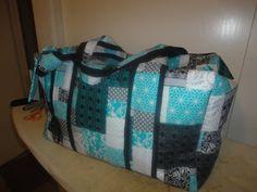 Large handmade weekend bag by ColleenBerge on Etsy, $60.00