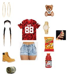 """""""Untitled #244"""" by official-jamaya ❤ liked on Polyvore featuring A BATHING APE, Timberland, Kate Spade and Brooks Brothers"""
