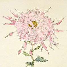 #flowers  antique japanese block print