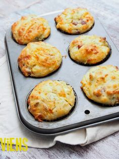Viens manger...: Muffins jambon, fromage et légumes Muffin Recipes, Brunch Recipes, Appetizer Recipes, Bread Bar, Slow Cooker Recipes, Entrees, Food And Drink, Healthy Recipes, Cooking