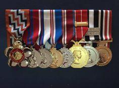 REPLICA Princess Anne's Medal group