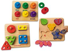 Classic Hardwood Learning Toys - Complete Set at Lakeshore Learning