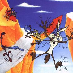 My all time favorite character, Wile Coyote!