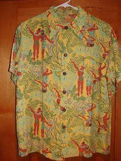 Vintage 1940s Rayon Hawaiian Shirt by Kamehameha