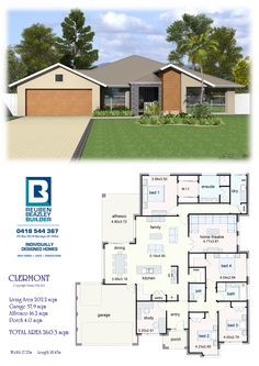 Sims House Plans, House Layout Plans, New House Plans, Dream House Plans, Small House Plans, House Layouts, House Floor Plans, Single Storey House Plans, House Plans South Africa