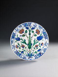 PLAT AU CYPRÈS, IZNIK, VERS 1580-1585