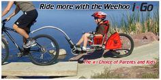 Bicycle Trailer | Weehoo Bicycle Trailer - Jordan would love to be able to attach this to his recumbant bike and go with one of the kids!