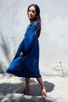 Loup Charmant Goa Dress in Indigo   Oroboro Store