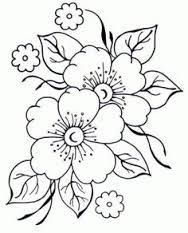 pergamano - Page 2 - Embroidery flower patterns – Imagui: - Embroidery Designs, Ribbon Embroidery, Embroidery Stitches, Machine Embroidery, Brush Embroidery, Colouring Pages, Coloring Books, Coloring Sheets, Free Coloring