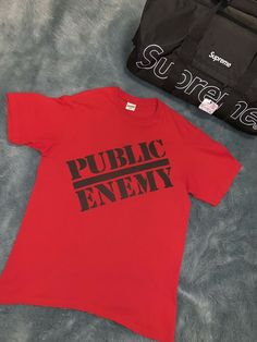 c1bf2813 Supreme UNDERCOVER/Public Enemy Blow Your Mind Tee   Red Size: S #fashion # clothing #shoes #accessories #mensclothing #shirts (ebay link)