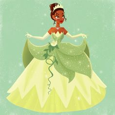 georgiesketches 'Almost there' 🎼 Tiana is one of my favourite Disney princesses! This took a while because I wanted to do her dress justice, it's a shame… Tiana And Naveen, Disney Princess Tiana, Frog Princess, Disney Princesses, Princess Power, Tangled Princess, Sailor Princess, Princess Merida, Princess Bubblegum