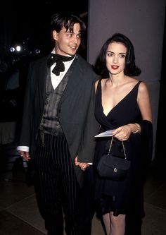 21 Reasons Johnny Depp And Winona Ryder Should Get Back Together. Love this so much I had to pin.