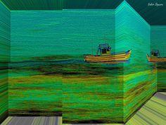 https://flic.kr/p/vTot4y | Espaço tridimensional com barco