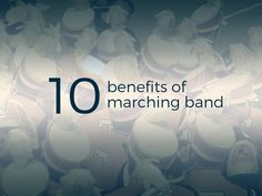 In addition to totally killing your half-time performance and wowing all your classmates, it turns out participating in marching band will benefit you in many ways off the field as well. Read along to review our top 10 benefits of playing in your school marching band.