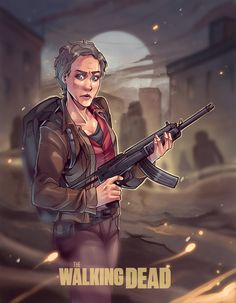 The Walking Dead Artwork. Carol...... !!!!