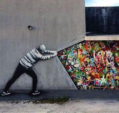 #StreetArt by Martin Whatson in #Miami