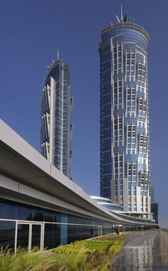 JW Marriot Marquis Hotel, Dubai, U.A.E. - The tallest hotel in the world.