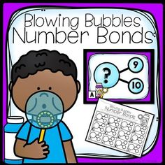 Blowing Bubbles Number BondsMissing WholeWrite the Room2 Versions Included