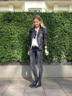 Leather & ombrè