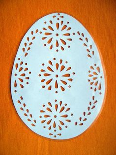 Carved Eggs, Kirigami, Easter Crafts, Paper Cutting, Stencils, Carving, Brother, Google, Papercutting