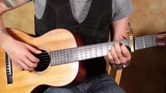 James Taylor - Fire and Rain - How to Play on Acoustic Guitar Lesson - F...
