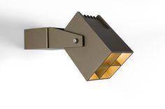 Julien square IP54 LED GE by Modular Lighting Instruments | Spotlights