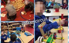 Een rekencircuit voor kleuters Msv, Math For Kids, Circuit, Kids Rugs, Teacher, Education, Children, Pictures, Games
