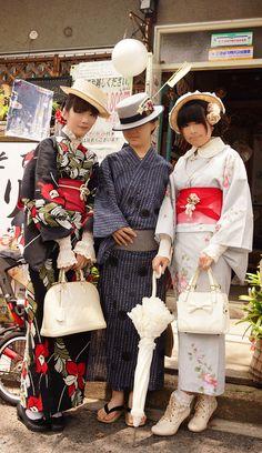 kawaii kimono: yukata   This is just too cute.