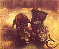 Van Gogh, Still Life A pair of shoes