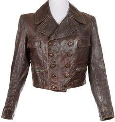 40s leather jacket....w.o.w