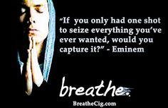 BreatheCig.com #Handcrafted #Vapor & ChildProof #eCigarette #Patents.  #eminem