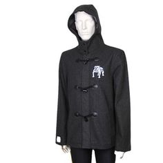 Western Bulldogs Duffle Coat $99.95 for men. Also available in Ladies sizes.