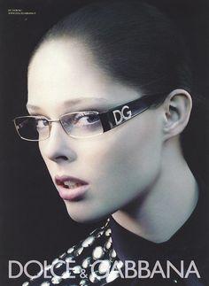 Coco Rocha for Dolce & Gabbana Eyewear