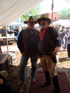 Local members participating in Old West characters pioneer roles at Territory Days Old Colorado City